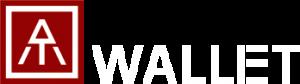 ATWallet Logo - White